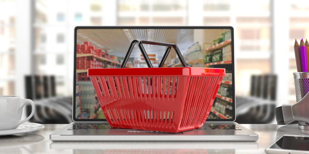 shopping basket for online shopping