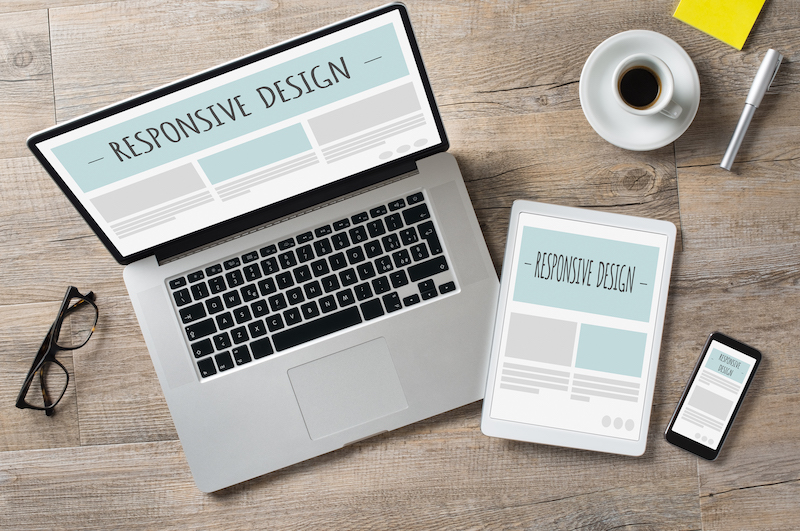 Responsive website design for all devices