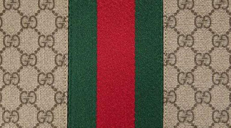 Gucci brand pattern